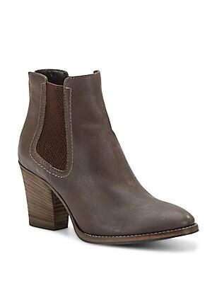 Fabien Leather Booties