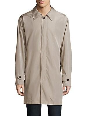 Solid Long Sleeve Raincoat