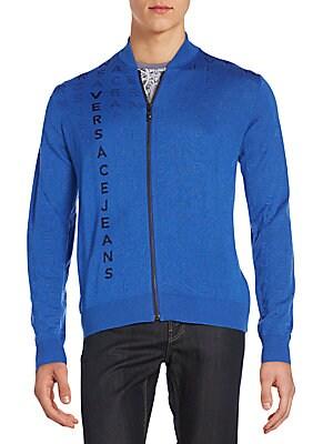 Logo Wool-Blend Jacket