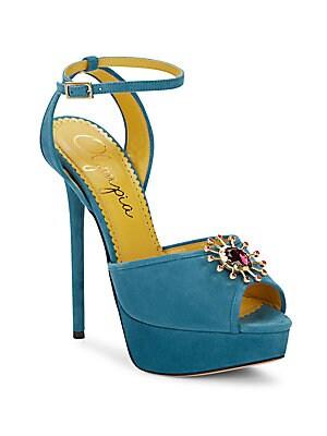 Pomeline Suede Platform Sandals