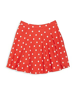 Girl's Polka Dot Circle Skirt