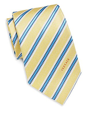 Regimental Stripe Silk Tie