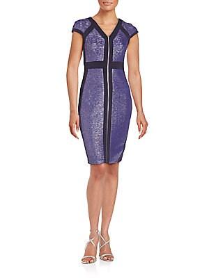 Cross Pattern Dress