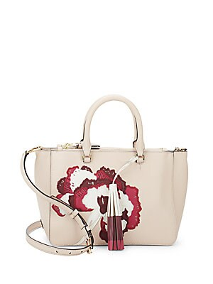 Robinson Floral Leather Crossbody Bag