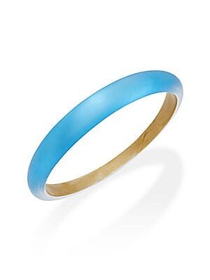 Lucite Tapered Bangle Bracelet