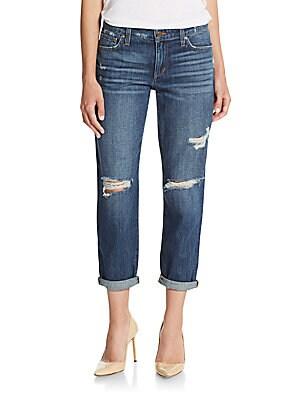 Aura Cropped Boyfriend Jeans