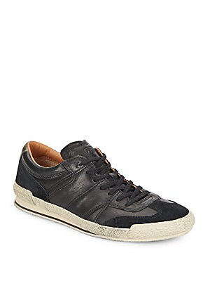 Snyder Runner Leather & Suede Sneakers
