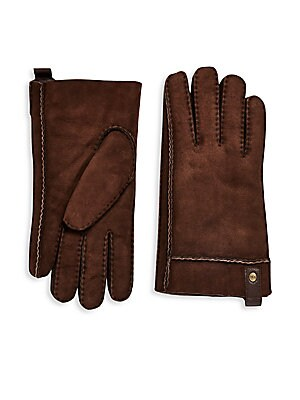 Shearling Sheepskin Leather Gloves