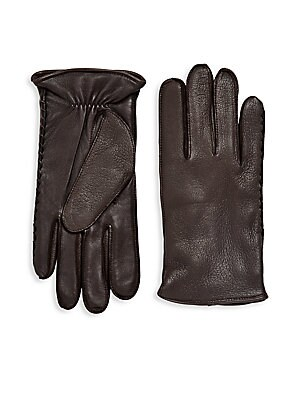 Solid Leather Gloves