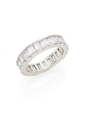 Baguette Crystal Ring