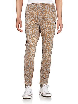 Etsu Leopard-Print Jogger Pants