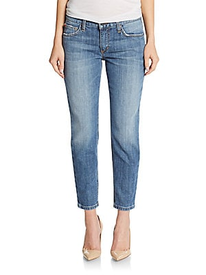 Audrey Retro Skinny Ankle Jeans