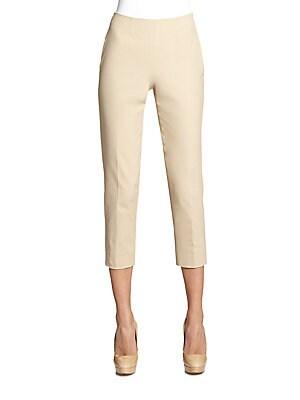 Audrey Cotton Gabardine Pants