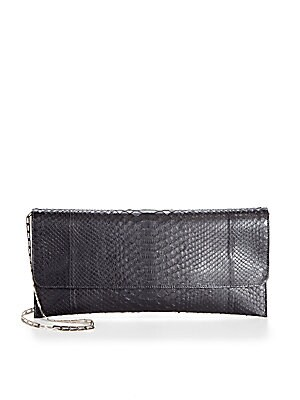 Leather Chain Strap Wallet
