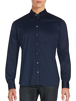 Regular-Fit Cotton Sportshirt
