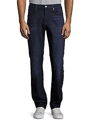 Cotton Blend Five-Pocket Pants