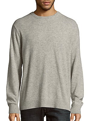 Heathered Long Sleeve Pullover
