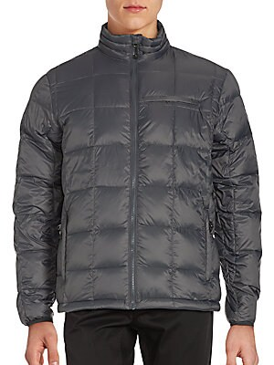 Box Quilted Down Jacket