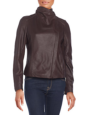 Andreas Leather Moto Jacket