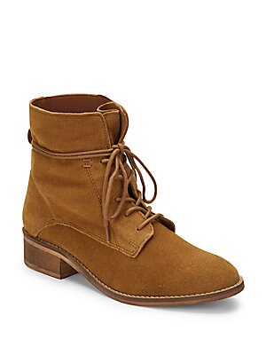 Suede Roundtoe Boots