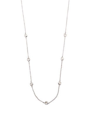 Click here for Super Buy Diamonds & 14K White Gold Chain Necklace prices