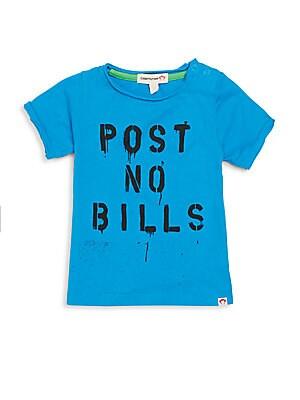 Baby's Post No Bills Graphic Tee