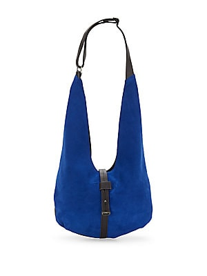 Suede & Leather Hobo