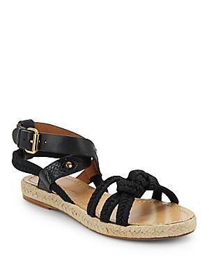 Jute & Leather Sandals