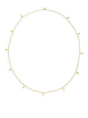 Click here for 18K Yellow Gold Charm Necklace prices