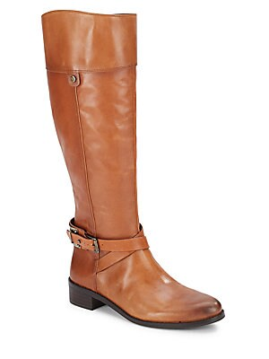 Leather Tall Shaft Boots