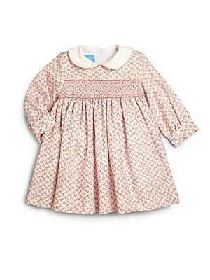 Baby's Sophia Smocked Floral-Print Cotton Dress