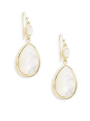 Moonstone Teardrop Earrings