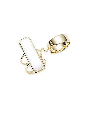 10K Yellow Gold Plated Ring