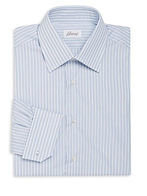 Regular-Fit Striped Dress Shirt