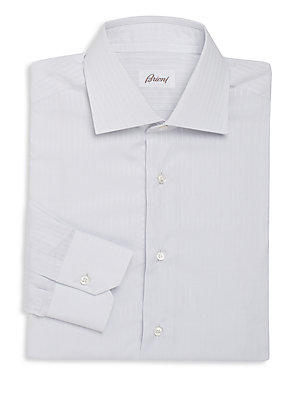 Subtle Striped Dress Shirt