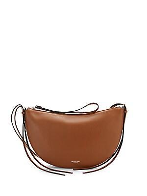 michael kors female  medium crescent shoulder bag