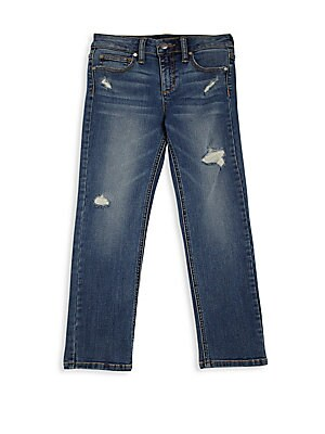 Little Boy's & Boy's Brixton Distressed Jeans