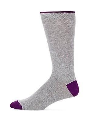 Contrast Block Socks