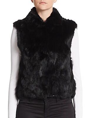 Rabbit Fur Vest