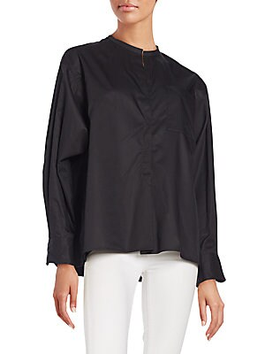 Cotton Boxy Shirt