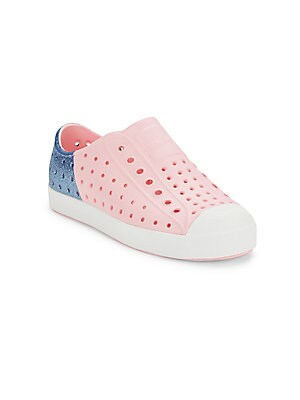 Kid's Colorblock Perforated Sneakers