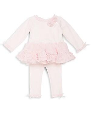 Baby's Two-Piece Tutu Top & Leggings Set