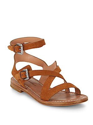 Ainsley Brushed Suede Sandals