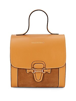 Amy Suede & Leather Satchel