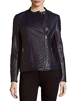 Hayden Leather Moto Jacket