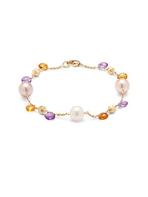 Click here for Paradise Amethyst  Citrine & Fresh Water Pearl Bra... prices