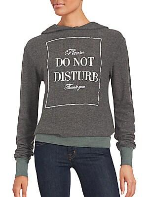 Long Sleeve DO NOT DISTURB Hoodie