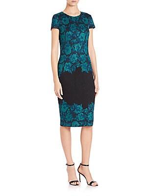 Aegean Floral-Print Dress