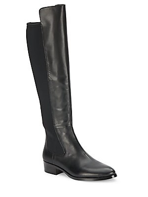 Almond Toe Over-The-Knee Boots