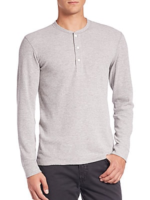 Hunter Cotton Henley